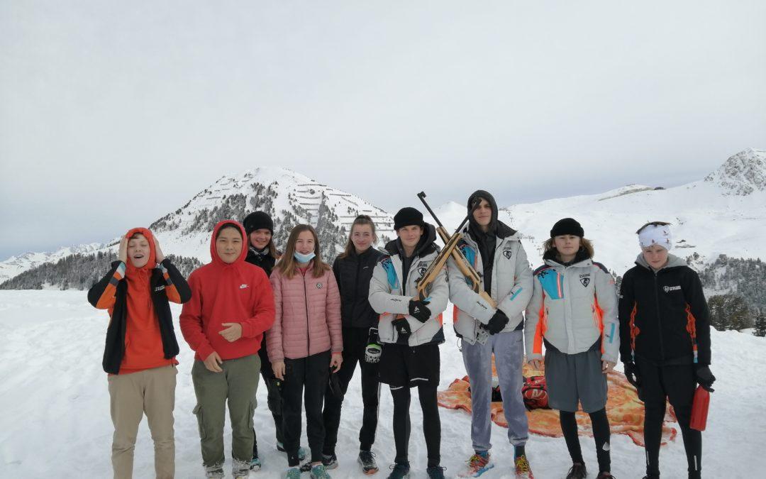 Journée biathlon pour le Groupe Grand Prix.